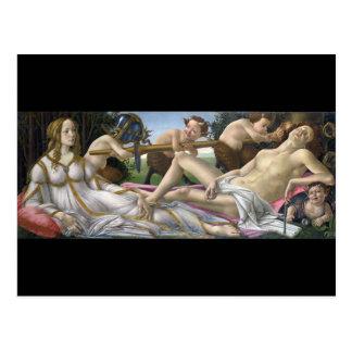 Venus and Mars, Sandro Botticelli Postcard