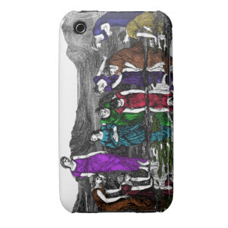 Venus and the Maids Case-Mate iPhone 3 Case