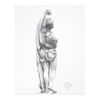 Venus Callipyge Custom Letterhead