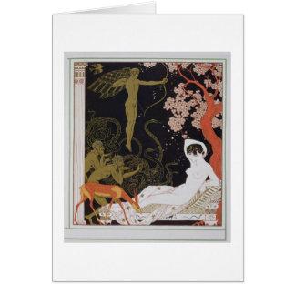 Venus (colour litho) card