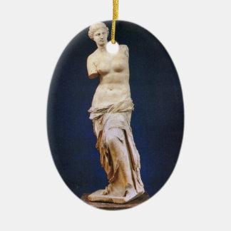 Venus de Milo Ceramic Ornament