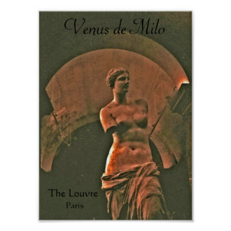 Venus de Milo Louvre Poster