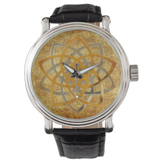 Venus Flower BiColor antique Watch