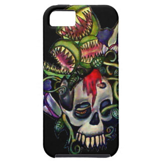 Venus Fly Trap & Corpse Flower Skull Phone Case iPhone 5 Cover