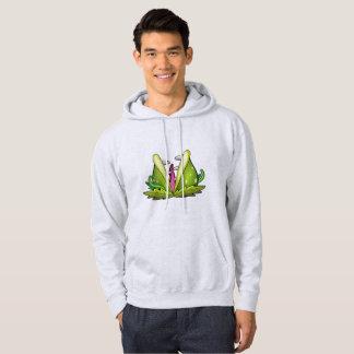 venus flytrap monster mens hoody hoodie sweatshirt