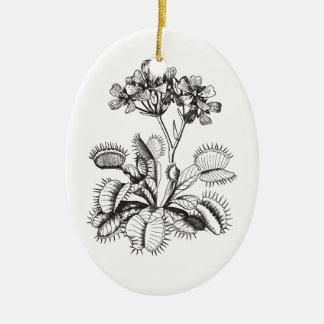 Venus Flytrap Vintage Botanical Ornament