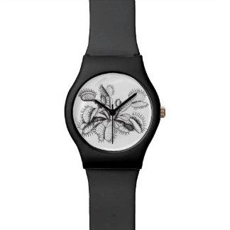 Venus Flytrap Vintage Botanical Wristwatch
