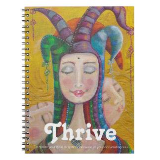 Venus Gratitude Journal | Carnival Circus Girl