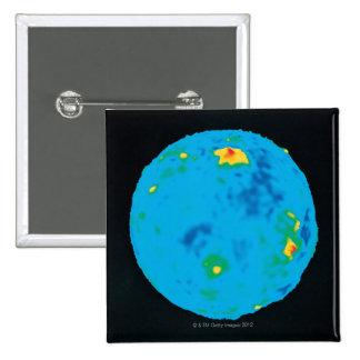 Venus, High Resolution Gravity Data 2 Inch Square Button
