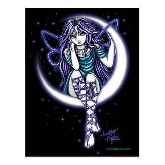 Venus Moon Celestial Fairy Fantasy Postcard