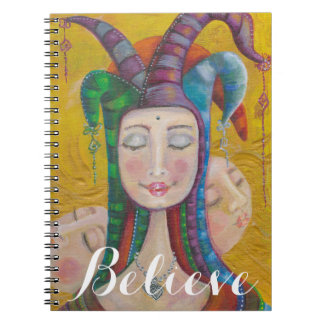 Venus Notebook | Carnival Circus Girl Believe