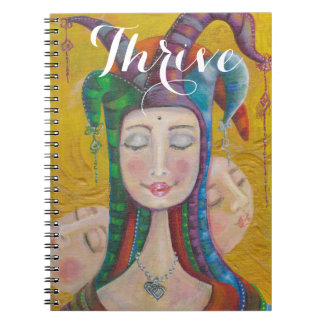 Venus Notebook Diary | Carnival Circus Girl Thrive