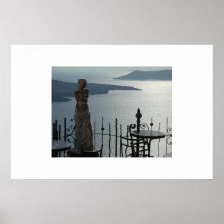 Venus of Santorini Poster