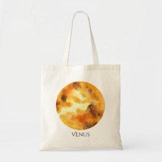 Venus Planet Watercolor Tote