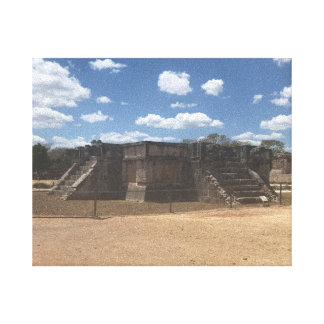 Venus Platform – Chichen Itza, Mexico Canvas