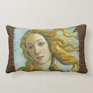 Venus * Sandro Botticelli Lumbar Pillow