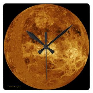 VENUS SQUARE WALL CLOCK