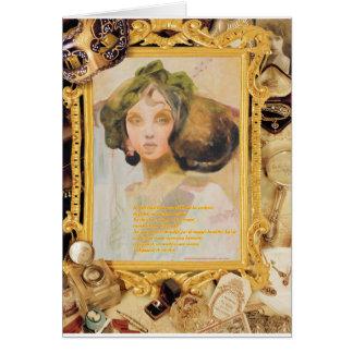 VENUS VINTAGE CARD
