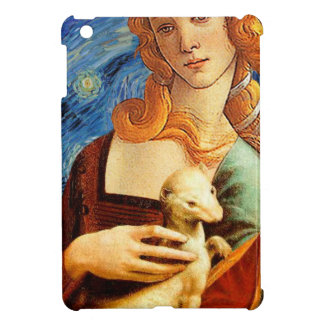 Venus with a Ermine in a Starry Night iPad Mini Covers