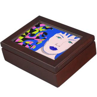 Venusian Illustration Keepsake Box