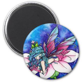 Vera Fairy Fantasy Flower Magnet