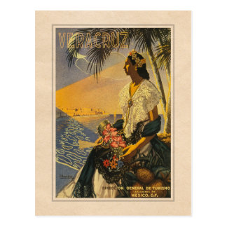 Veracruz, Mexico - Vintage Travel postcard