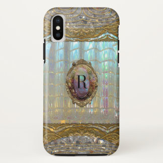 Veraspeece Baroque  Pretty Monogram iPhone X Case