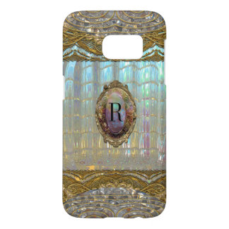 Veraspeece Sweet Baroque Girly Unique Monogram Samsung Galaxy S7 Case