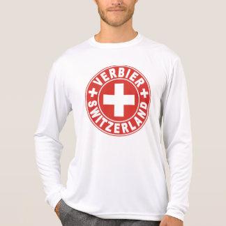 Verbier White Cross Tee Shirt