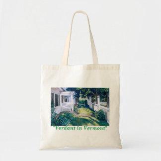 Verdant in Vermont Tote Bag