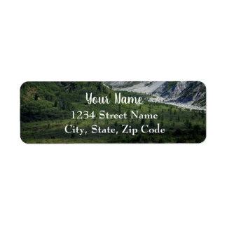 Verdant Mountain Address Labels