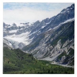 Verdant Mountain Photo Tile
