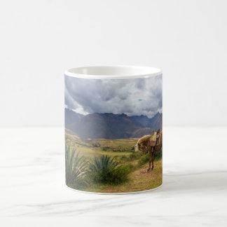 Verdant Sacred Valley Horse Coffee Mug