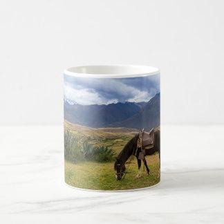Verdant Sacred Valley Horse II Coffee Mug