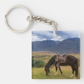 Verdant Sacred Valley Horse II Keychain