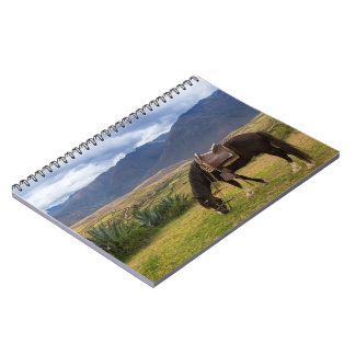 Verdant Sacred Valley Horse II Notebook