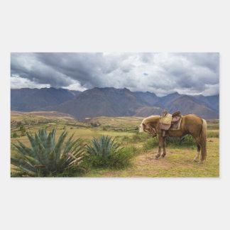 Verdant Sacred Valley Horse Sticker