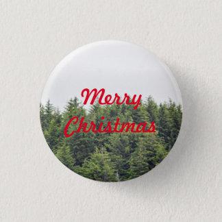 Verdant Tree Tops Button