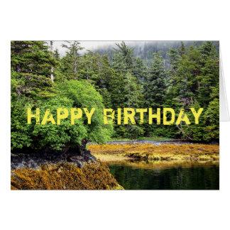 Verdant Views Birthday Card