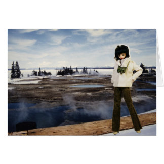 Verdi at Yellowstone Lake, Yellowstone National Pa Card