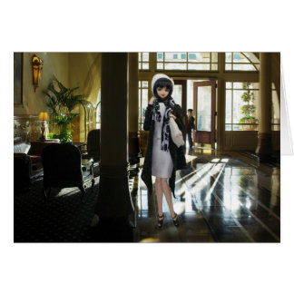 Verdi, Driskill Hotel Lobby in Austin, Texas Card