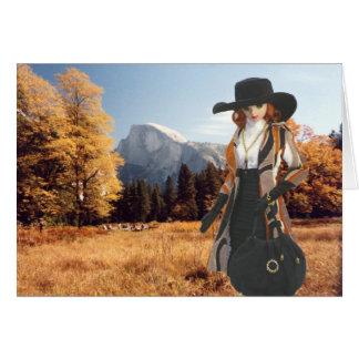 Verdi, Halfdome Meadow, Yosemite National Park Card