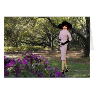 Verdi - Pink Attire,  Florals at Houston, Zoo Card