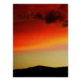 Verdi Sunset Poster