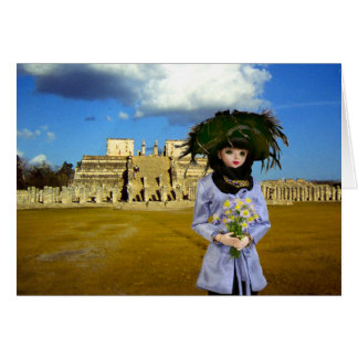 Verdi, Temple of the Warriors, Chichen Itza Card