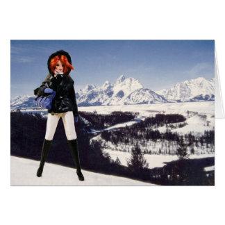 Verdi Visits The Grand Teton National Park Card
