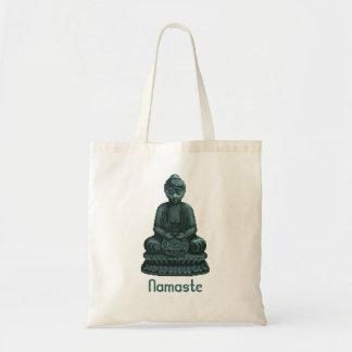 Verdigris Green Buddha Pixel Art