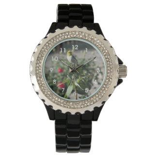 Verdin on Rosebud Wrist Watch