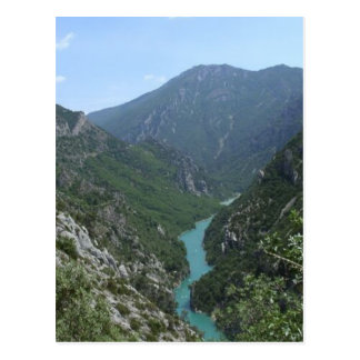 Verdon Gorge Postcard