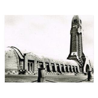 Verdun, Battlefield monument Postcard